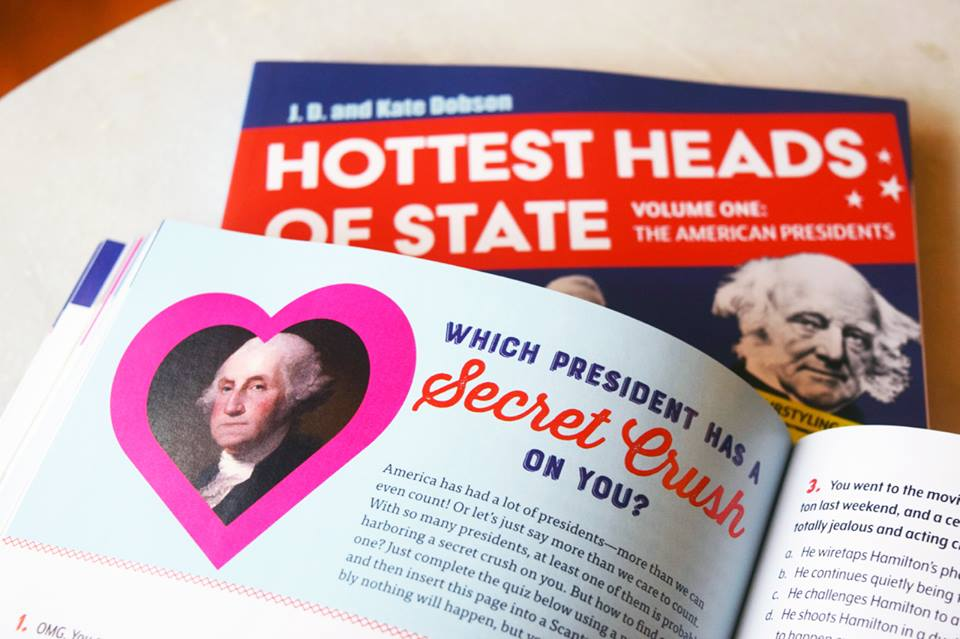 Presidentress: Book Review: Hottest Heads of State
