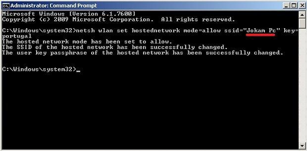 membuat wifi dari laptop dengan command prompt dengan mudah dan cepat