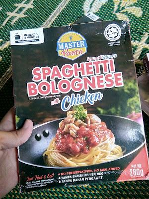 Spaghetti cepat dan mudah