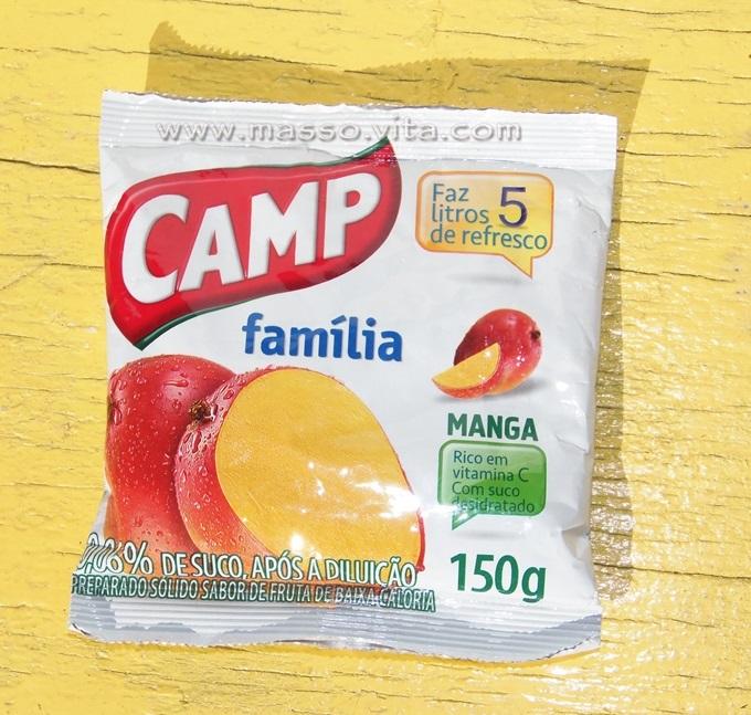 Refresco em pó Camp Família Manga