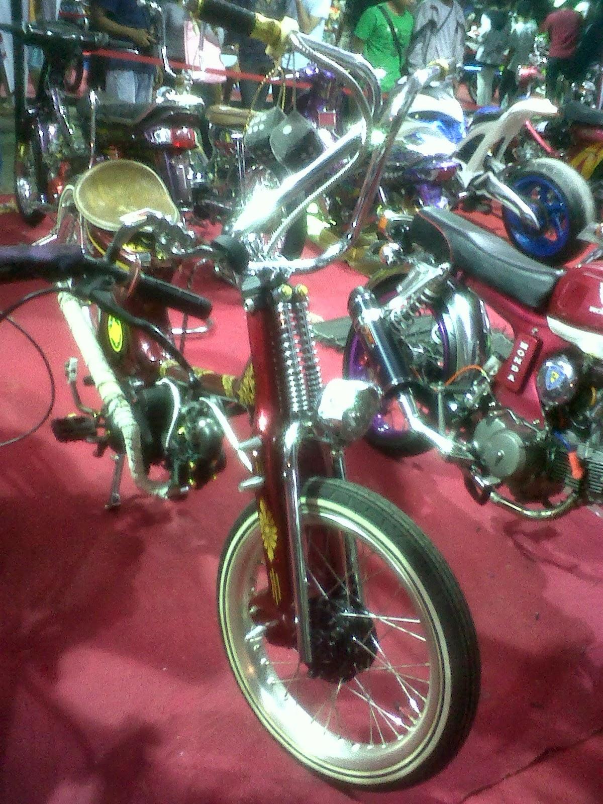 Foto Modifikasi Motor Kontes Honda Foto Dan Gambar