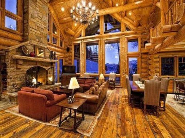nội thất nhà gỗ