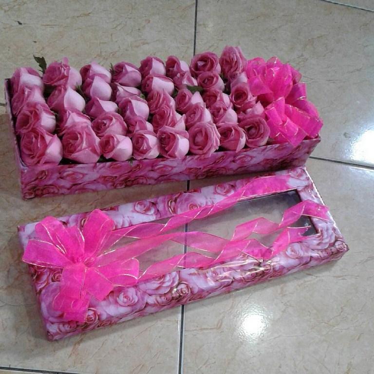 Karangan Bunga Box 008