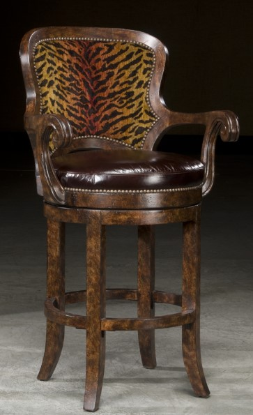 Tiger Style Bar Chair