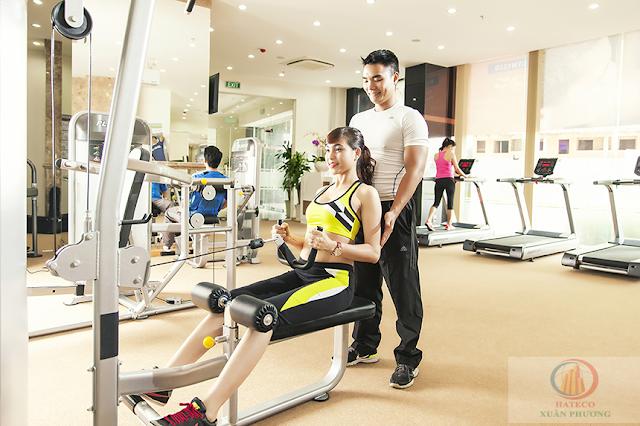 Phòng tập Gym chung cư Xuân Phương