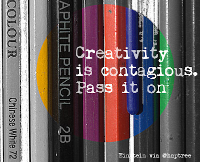 creativity is contegious