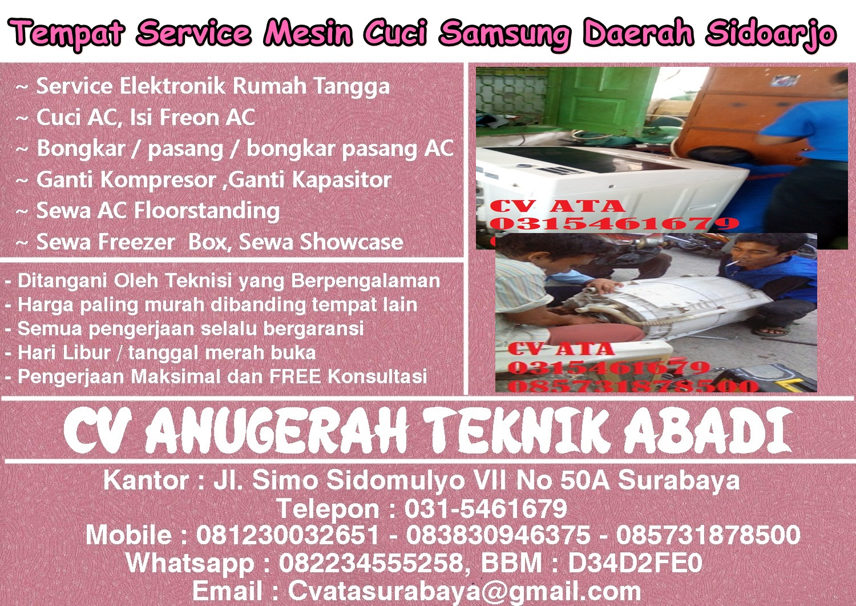 Service Mesin Cuci Samsung