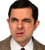 Mr Bean confuso