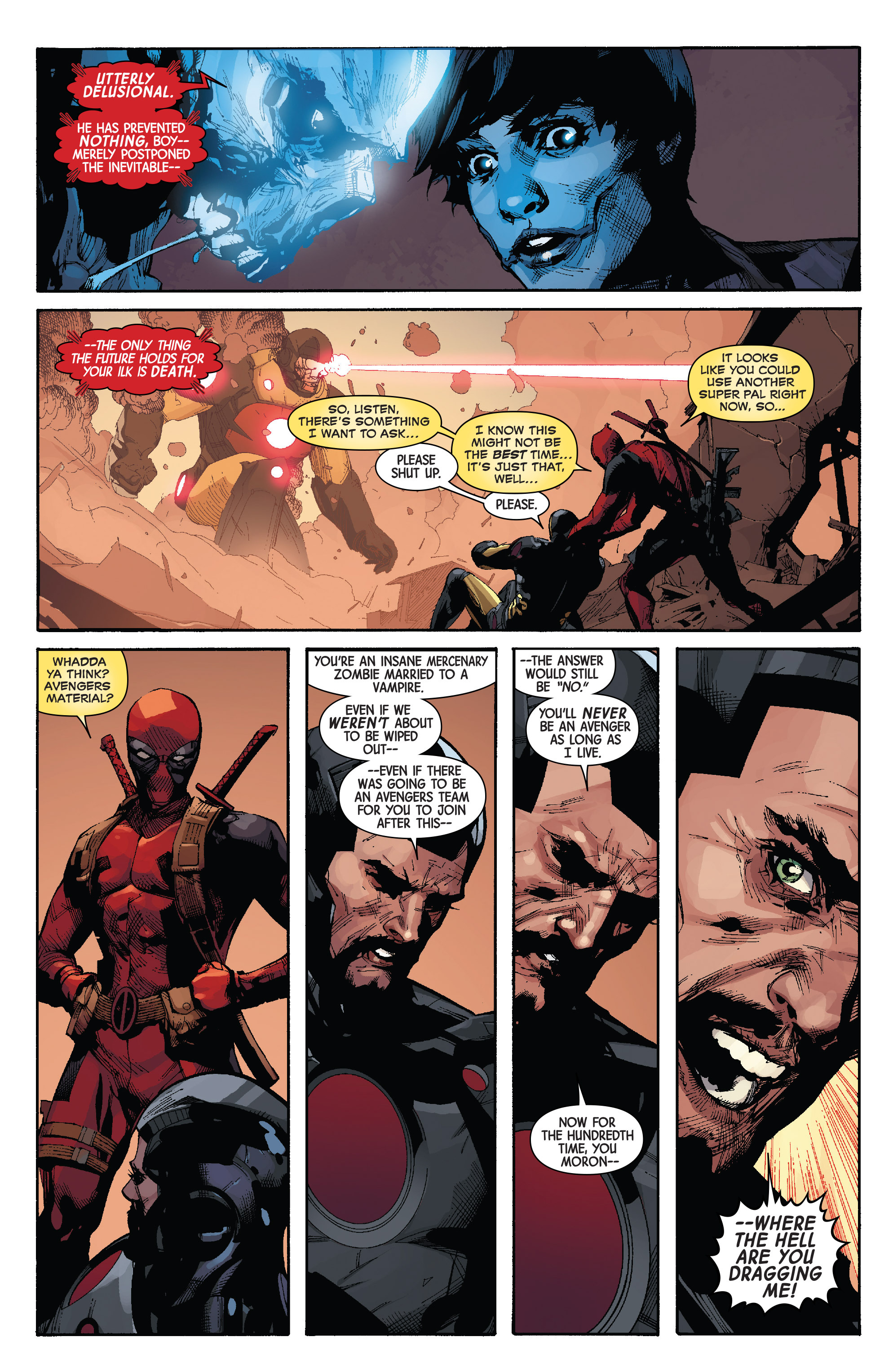 Read online Avengers & X-Men: AXIS comic -  Issue #3 - 16