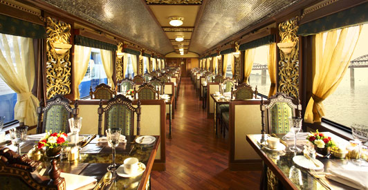 Maria is my name luxe train voyages part one - Maharaja fine indian cuisine ...