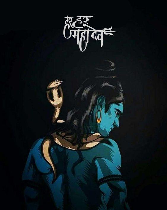drawing Bholenath hd wallpaper