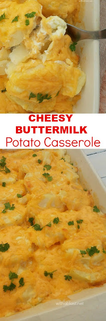 Family favorite Buttermilk Potato side dish ~ Comfort Food !