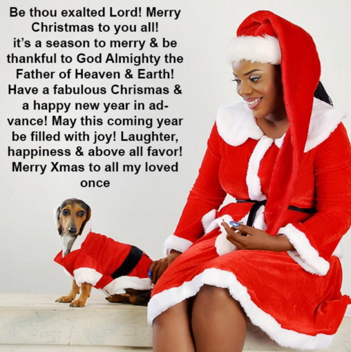 nollywood celebrities christmas card 2015