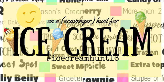 On a (Scavenger) Hunt for Ice Cream {free printable, too}