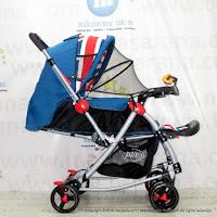 Kereta Bayi Pliko PK398 Rodeo  England Rocker-Hadap Depan Belakang