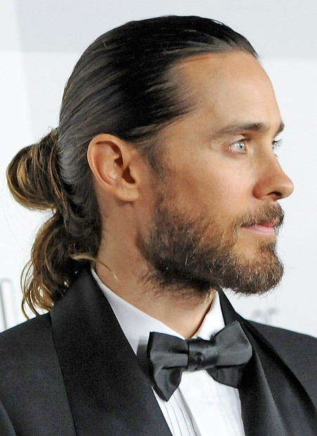 Beautiful Half Ponytail Hairstyle For Men In 2015 Jere Haircuts