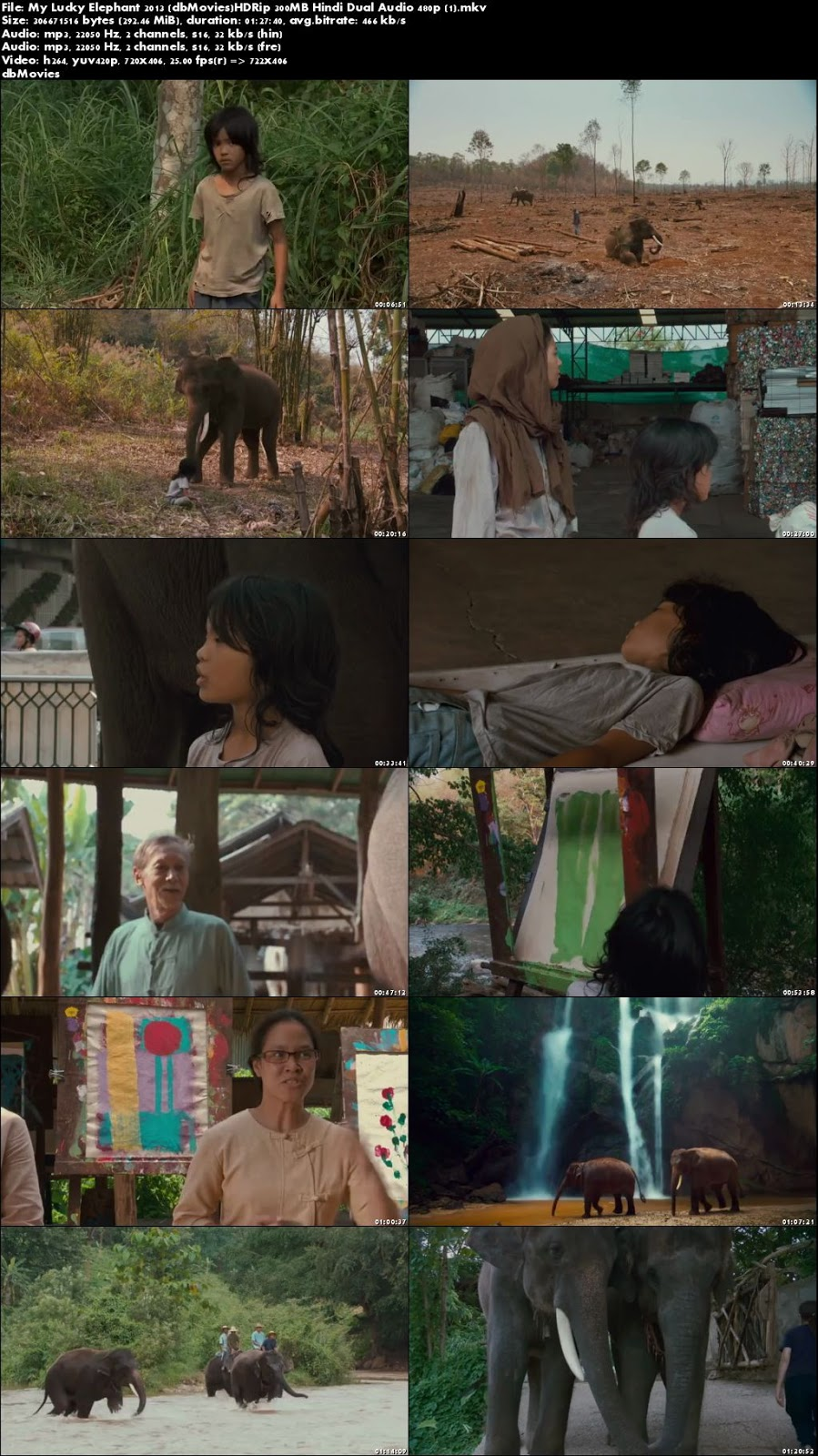 screen shot My Lucky Elephant 2013 Full Movies Download Dual Audio 300MB Free