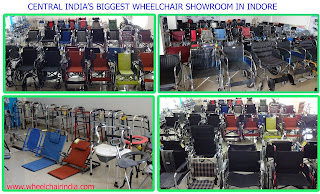 Central India's Biggest Wheelchair Showroom in Indore