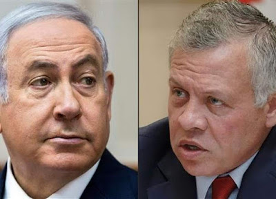 Raja Abdullah Tolak Bertemu Netanyahu