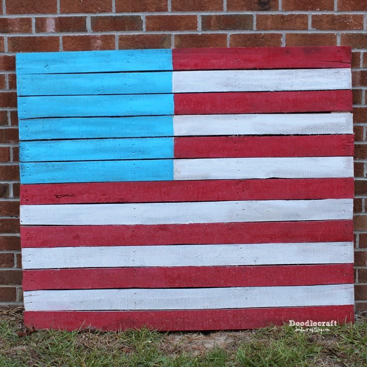 http://www.doodlecraftblog.com/2012/04/american-flag-upcycled-pallet.html