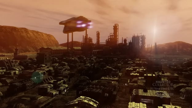 Red Faction Origins Mars city