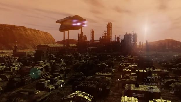 Red Faction Origins Mars city