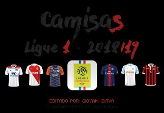 Pack Camisas FC'12 Brasfoot 2019 - Ligue 1 2018/19