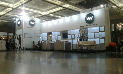 BOOTH WARNATASKU backdrop decoration booth stand branding promotion event support kontraktor pameran