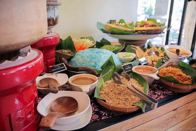 Nasi kerabu buffet ramadan ancasa hotel