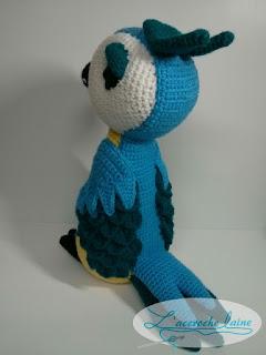 L'accroche laine - Oiseau