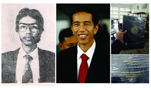 Tak Disangka, Ternyata Inilah Judul Skripsi Presiden Jokowi Saat Kuliah Dulu..