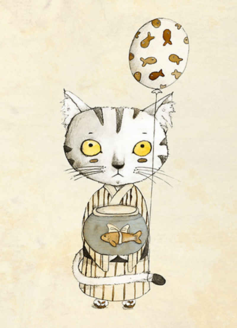 Judith Loske: The Art of Cats & Cuteness