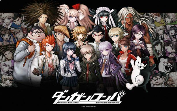 Danganronpa: The Animation - Best Anime Like Assasination Classroom (Ansatsu Kyouhitsu)