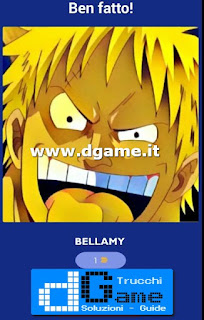 Soluzioni Guess The One Piece Character livello 9