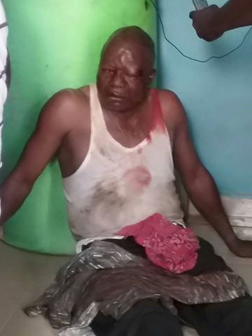 Man beaten to pulp for alllegedly duping woman N1.3m in Delta state (photos)