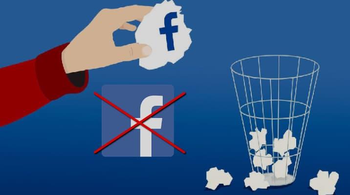 مسح حساب الفيس بوك نهائيا من رابط مباشر