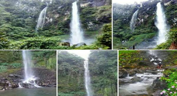 Tempat wisata Curug Cileat Subang Jawa barat