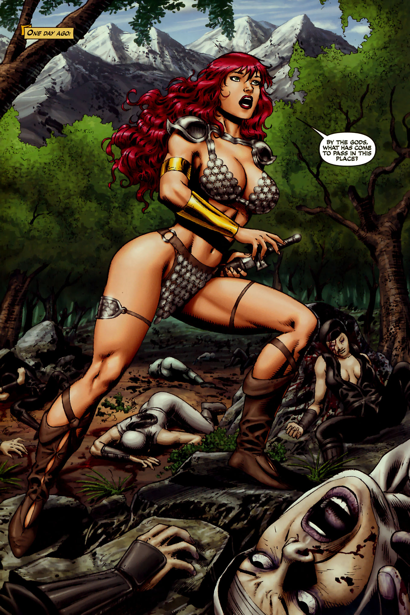 Read online Red Sonja (2005) comic -  Issue #45 - 14