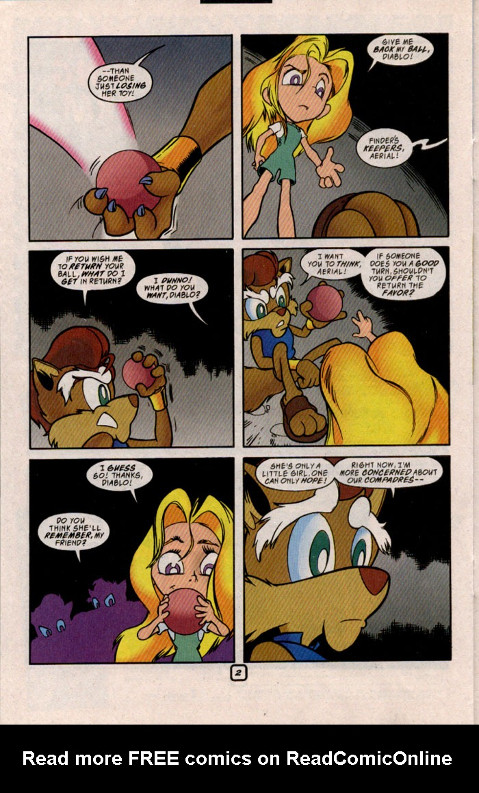 Read online Sonic The Hedgehog comic -  Issue #69 - 18