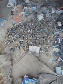 1 Photos: Troops discover Boko Haram's bomb factory in Borno