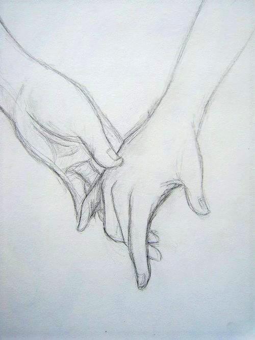 Mãos Dadas Desenhos Para Fazer No Caderno