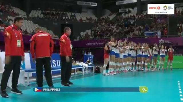 Live Streaming List: Philippines vs Indonesia ASIAD 2018 Volleyball (Women) Match
