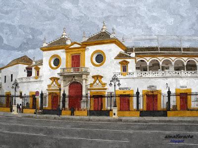 Sevilla - Plaza de la Maestranza