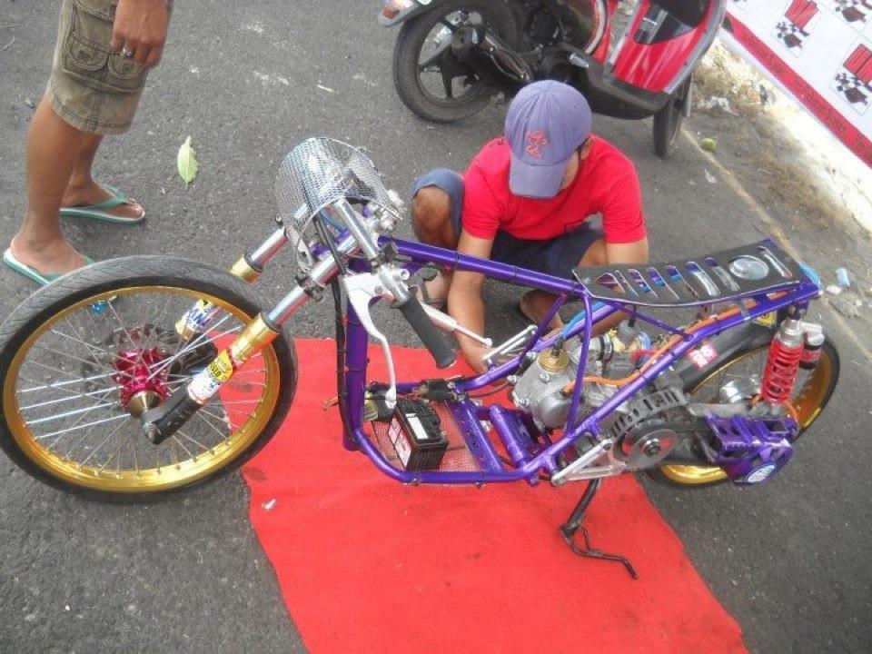 Foto Modifikasi Racing Honda Supra Fit