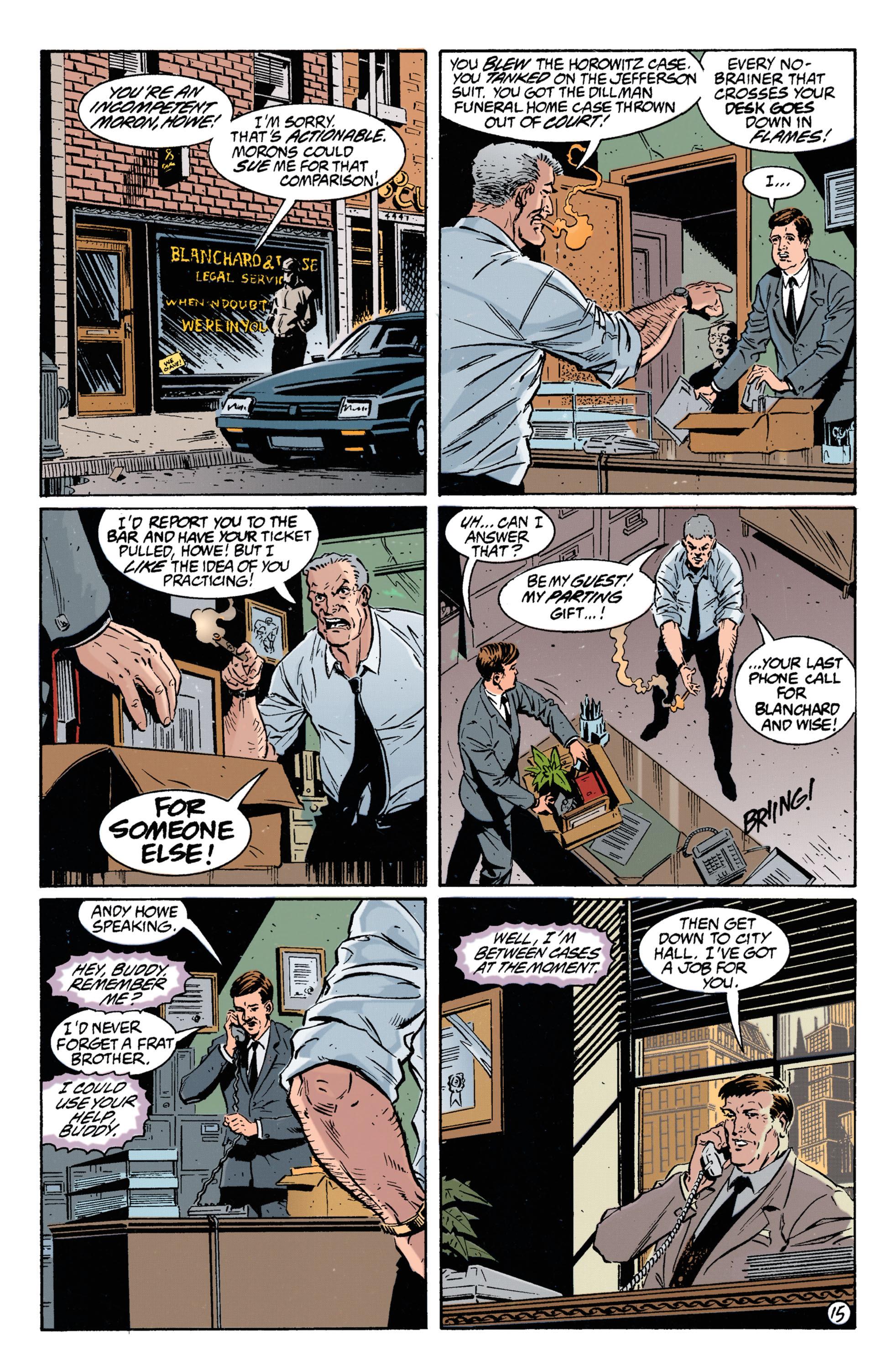 Detective Comics (1937) 693 Page 15