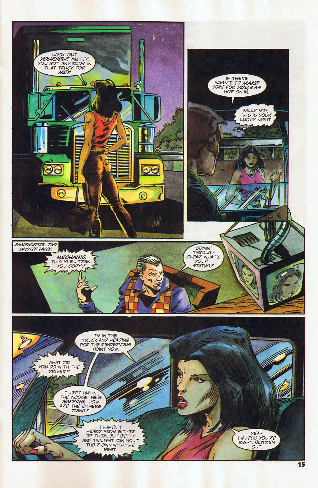 Read online Shadow Cabinet comic -  Issue #12 - 11