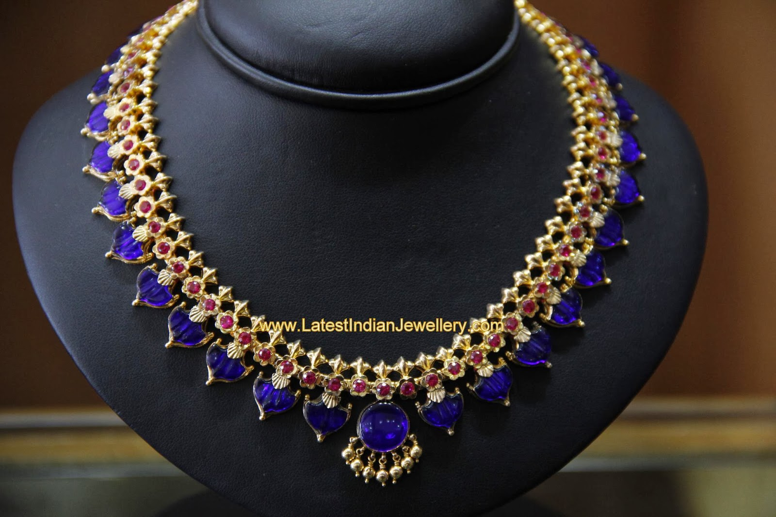 South Indian Palakka Mala - Latest Indian Jewellery Designs