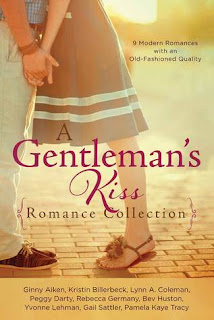 Heidi Reads... A Gentleman's Kiss Romance Collection: 9 Modern Romances with an Old-Fashioned Quality by Ginny Aiken, Kristin Billerbeck, Lynn A. Coleman, Peggy Darty, Nancy J. Farrier, Rebecca Germany, Bev Huston, Yvonne Lehman , Gail Sattler, Pamela Kaye Tracy
