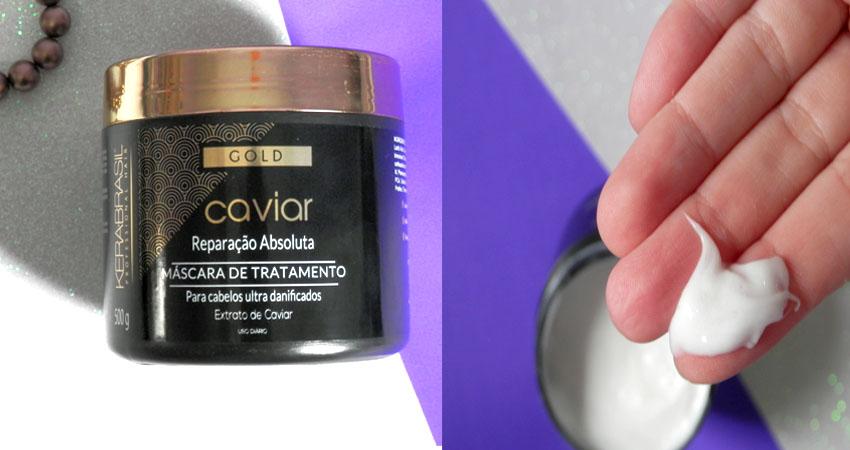 linha gold caviar kerabrasil