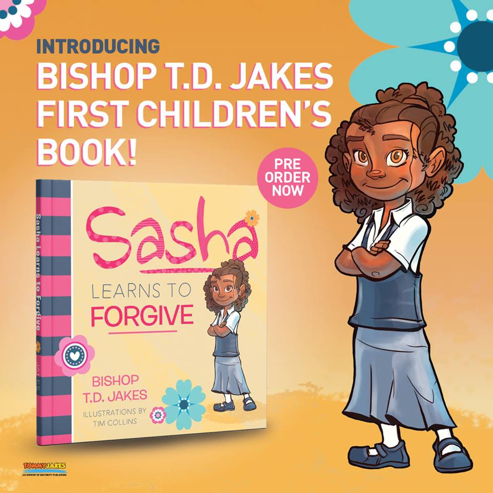 Bishop T D Jakes First Ever Children's Book! | The Old Black Church